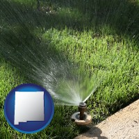 new-mexico a directional lawn sprinkler