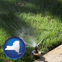 new-york a directional lawn sprinkler