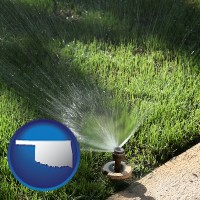 oklahoma a directional lawn sprinkler