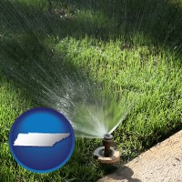 tennessee a directional lawn sprinkler