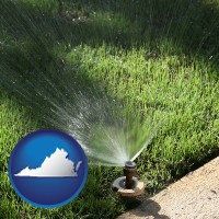 virginia a directional lawn sprinkler