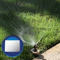 wyoming a directional lawn sprinkler