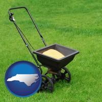 north-carolina a lawn fertilizer spreader