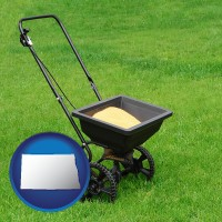 north-dakota a lawn fertilizer spreader