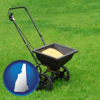 new-hampshire a lawn fertilizer spreader