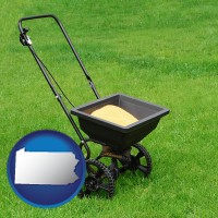 pennsylvania a lawn fertilizer spreader