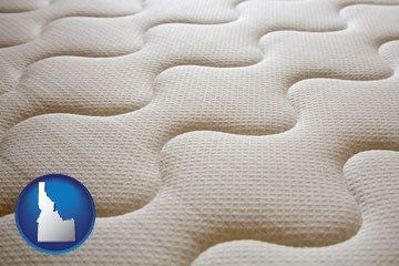 a mattress surface - with Idaho icon