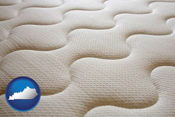 a mattress surface - with Kentucky icon