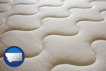 a mattress surface - with Montana icon