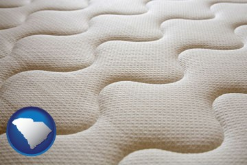 a mattress surface - with South Carolina icon
