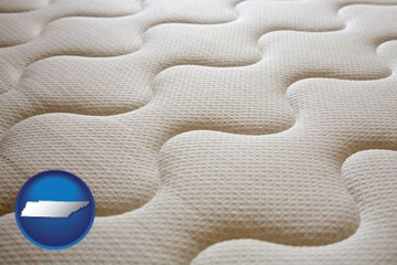a mattress surface - with Tennessee icon