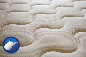 a mattress surface - with West Virginia icon