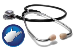 west-virginia a stethoscope