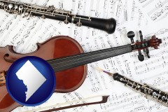washington-dc classical musical instruments