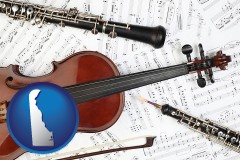 delaware classical musical instruments