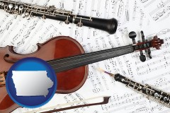 iowa classical musical instruments