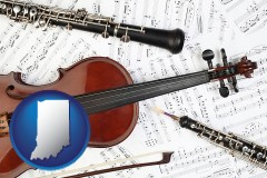 indiana classical musical instruments