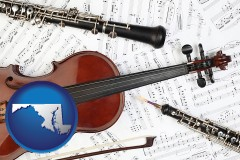 maryland classical musical instruments