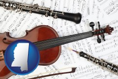 mississippi classical musical instruments