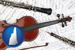 new-hampshire classical musical instruments