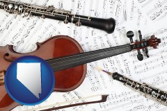 nevada classical musical instruments