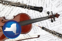 new-york classical musical instruments