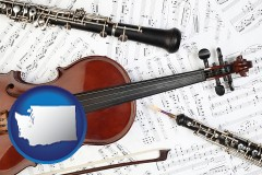 washington classical musical instruments