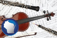 wisconsin classical musical instruments