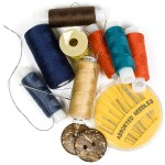 a sewing kit