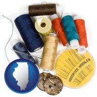 illinois a sewing kit