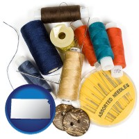 kansas a sewing kit