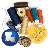 louisiana a sewing kit