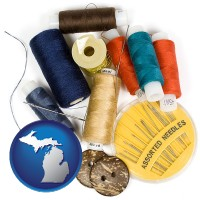 michigan a sewing kit