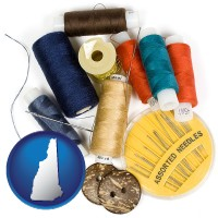 new-hampshire a sewing kit