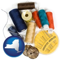 new-york a sewing kit