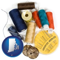 rhode-island a sewing kit