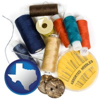 texas a sewing kit