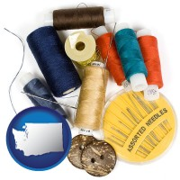 washington a sewing kit