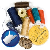 west-virginia a sewing kit