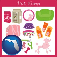 florida pet shop products