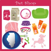 illinois pet shop products