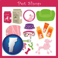 vermont pet shop products