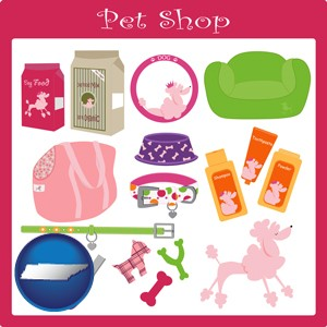pet shop products - with Tennessee icon