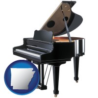 arkansas a grand piano