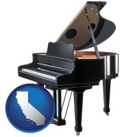 california a grand piano