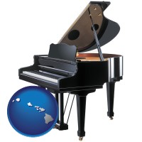 hawaii a grand piano