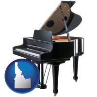 idaho a grand piano