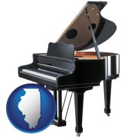 illinois a grand piano