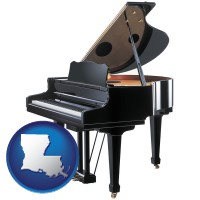 louisiana a grand piano