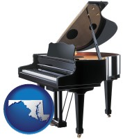 maryland a grand piano